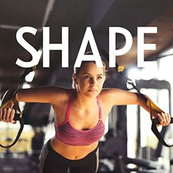 shape magazine advertising