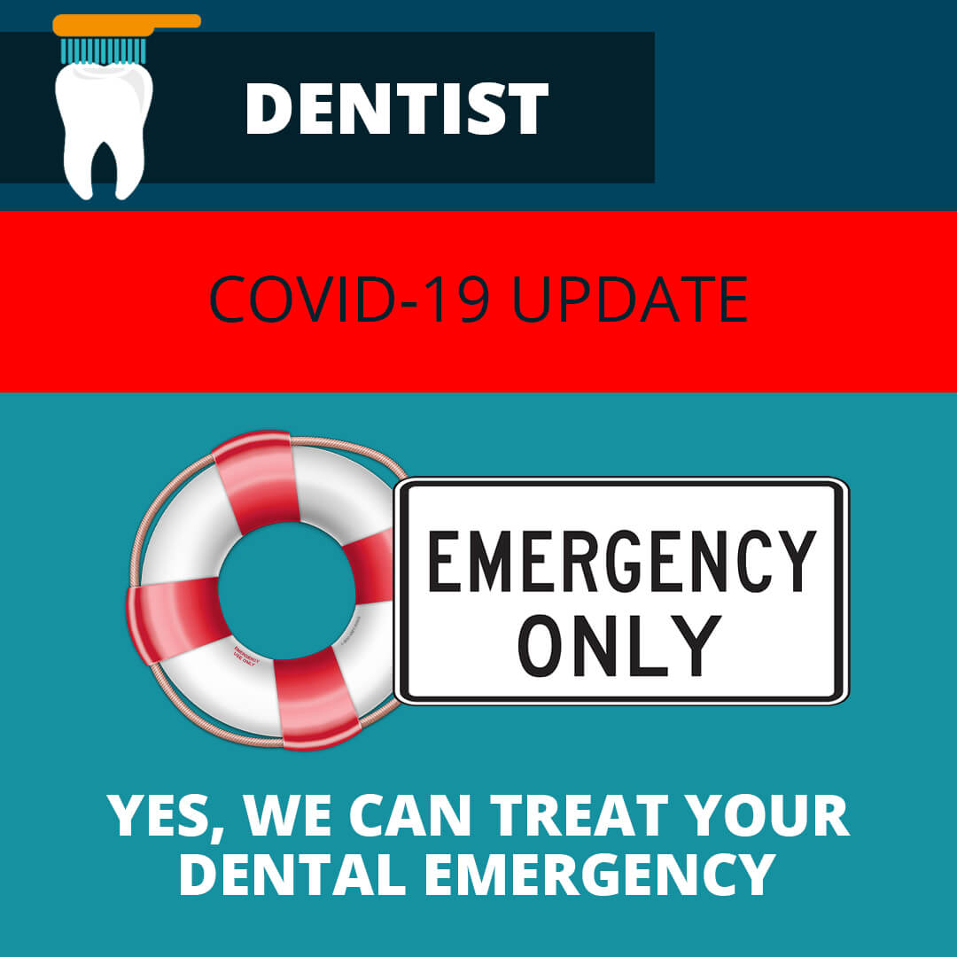 dental practice treating emergency facebook image