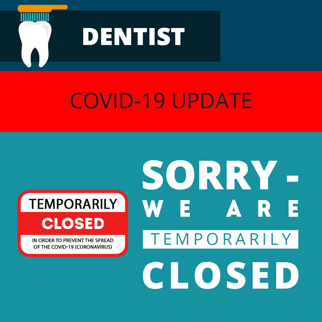 dental practice closed facebook image