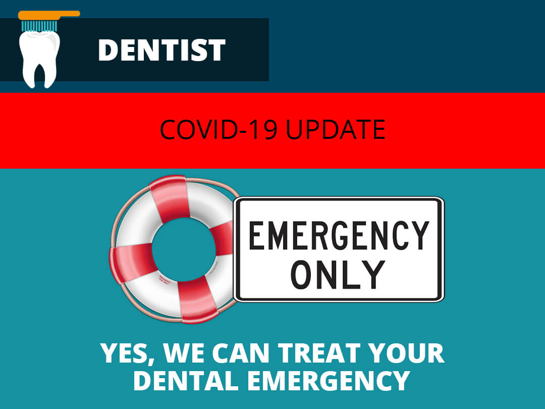 dental practice treating emergency gmb image
