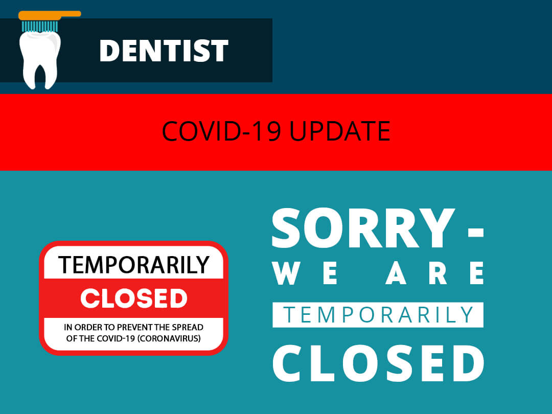 dental practice closed gmb image
